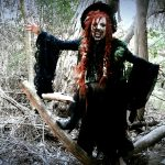 """Mather Louth (Heathen Apostles) in """"Wild Witch of the West"""" video"""